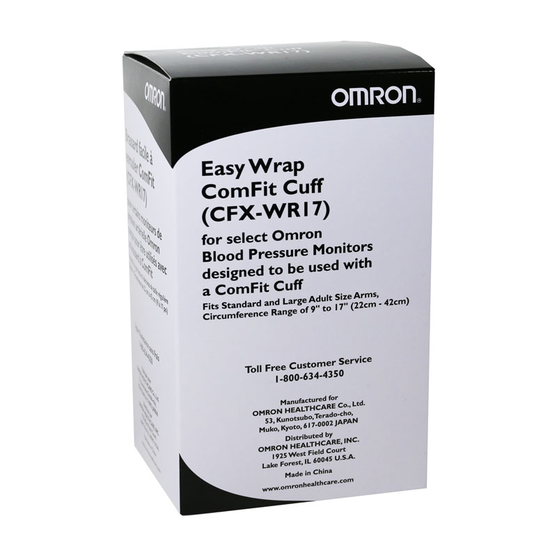 Omron Black Comfit Wide Range 9-17 inch Replacement Cuff CFXWR17