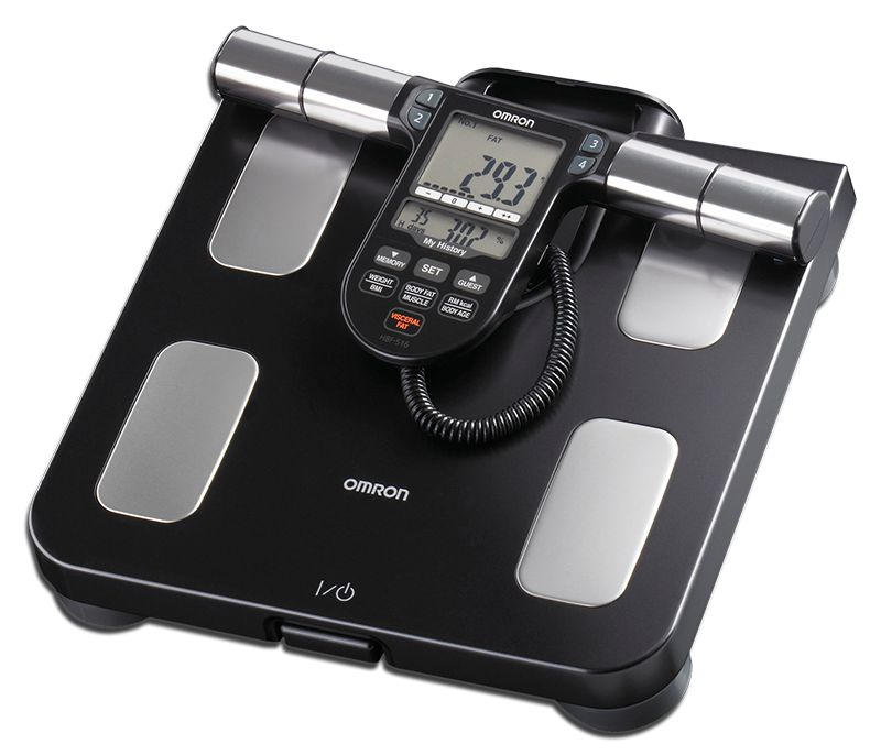 Omron Full Body Sensor Body Composition Scale w/90 Day Memory HBF-514C