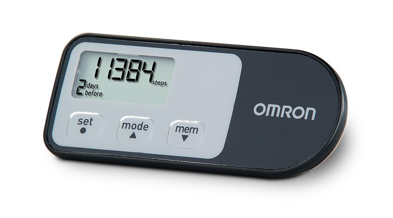 Omron Pedometer with 4 Tracking Modes HJ-321 - 5 Pack
