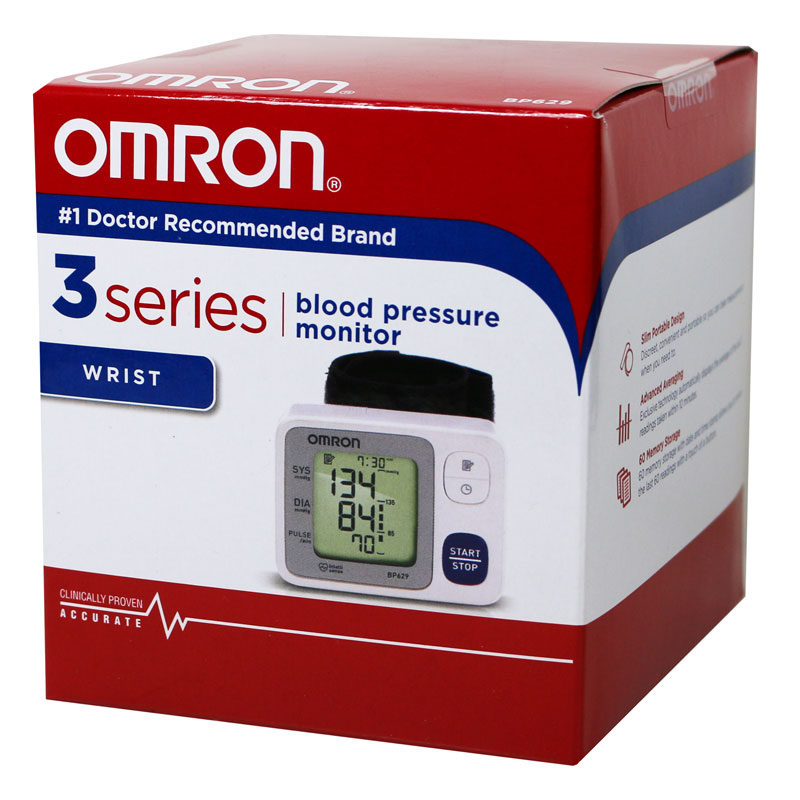 Omron Wrist Blood Pressure Monitor - BP629