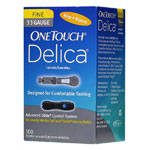 One Touch Delica Lancets 33G 100/bx
