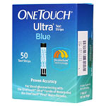 One Touch Ultra Blue Diabetic Test Strips Box of 50