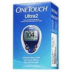 One Touch Ultra 2 Diabetes Meter Kit - Blood Glucose Monitoring System