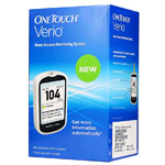One Touch Verio Blood Glucose Monitoring System