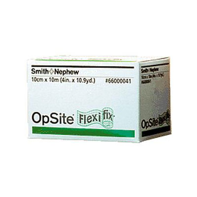 Smith and Nephew OPSITE Flexifix Dressing 4in x 11yd 566000041 6-Pack