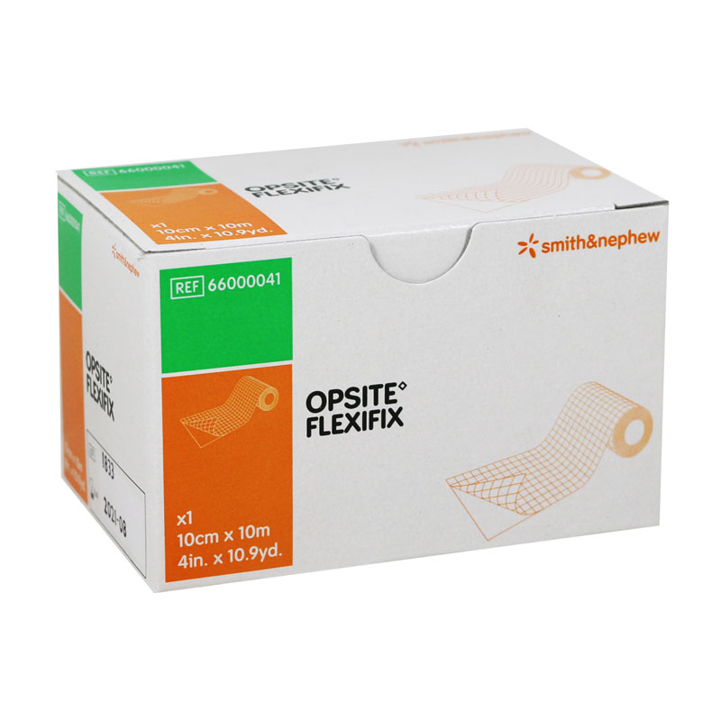 Smith and Nephew OPSITE Flexifix Dressing 4in x 11yd 566000041 3-Pack