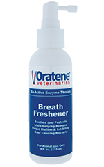 Oratene Pet Breath Freshener For Cats And Dogs 4oz - Pack of 6