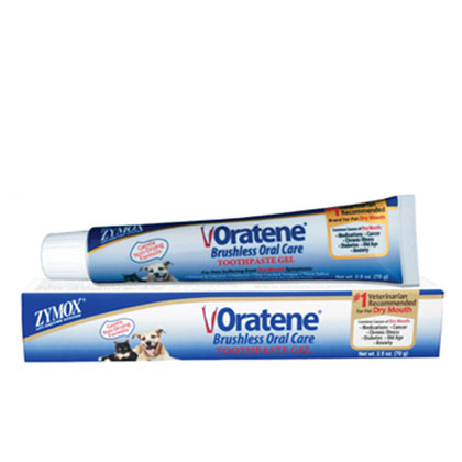 Oratene Pet Maintenance Gel For Cats And Dogs 2.5oz Tube