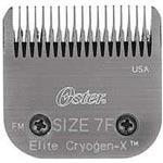 Oster Clipper Blades Elite Titan Cryogen-X - Size 7F