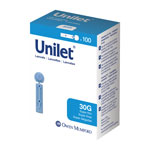 Owen Mumford Unilet Super-Thin Lancets 30 Gauge Pack of 3 thumbnail