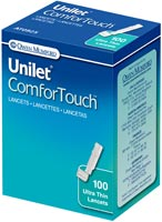 Owen Mumford Unilet ComforTouch Ultra Thin Lancets 28G 100/bx