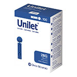 Owen Mumford Unilet Ultra-Thin Lancets 28 Gauge Pack of 6 thumbnail