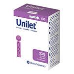 Owen Mumford Unilet Micro-Thin Lancets 33 Gauge Pack of 6 thumbnail