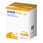 Owen Mumford Unistik Touch 23G 2mm - 200 Safety Lancets 6-Pack thumbnail