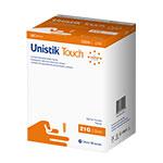 Owen Mumford Unistik Touch 21G 2mm - 200 Safety Lancets 3-Pack thumbnail