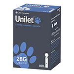 Owen Mumford Paws Unilet 28 Gauge Lancets Pack of 3