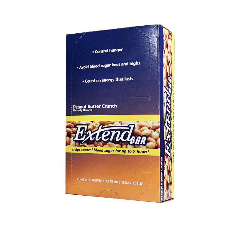 ExtendBar Peanut Butter Crunch - Case of 15