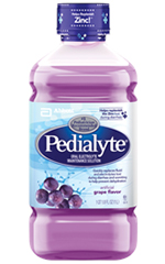 Abbott Pedialyte Ready-To-Feed Retail 1 Liter Bottle Grape Case of 4