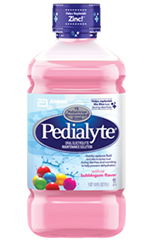Abbott Pedialyte Ready-To-Feed Retail 1 Liter Bottle Bubble Gum Each