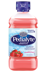 Abbott Pedialyte Ready-To-Feed Retail 1 Liter Bottle Strawberry Each
