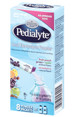 Abbott Pedialyte Powder Pack 4 Flavor Variety 8/bx Case of 64