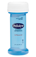 Abbott Pedialyte Unflavored 2oz Bottle Institutional Case of 48