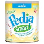 PediaSmart Organic Soy Vanilla - 12.7oz Powder