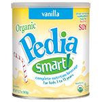 PediaSmart Organic Soy Vanilla 12.7oz Powder Pack of 6