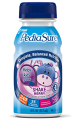 Abbott PediaSure Berry Cream Retail 8oz Bottle
