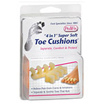 "PediFix ""4 in 1"" Super Soft Toe Cushions - One Size Fits Most Pair thumbnail"