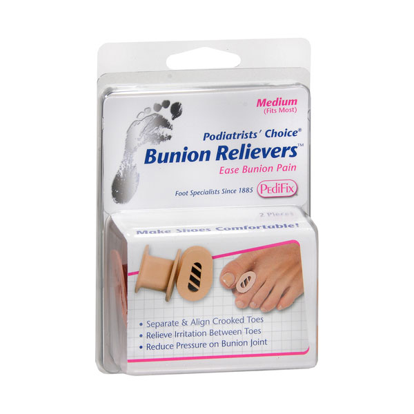 PediFix Podiatrist's Choice Bunion Relievers 2ct - Medium Pack of 6