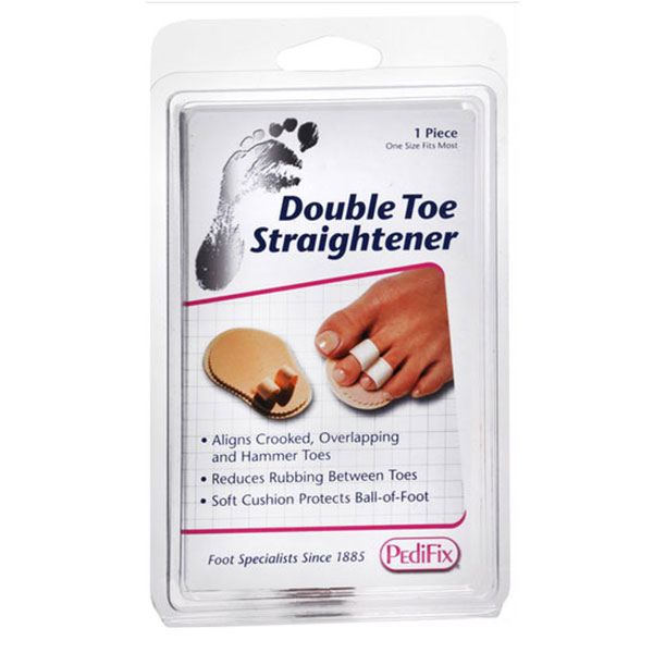 PediFix Podiatrist's Choice Double Toe Straightener Pack of 6