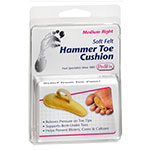 PediFix Soft Felt Hammer Toe Cushion Right - Medium