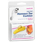 PediFix Soft Felt Hammer Toe Cushion Left - Small