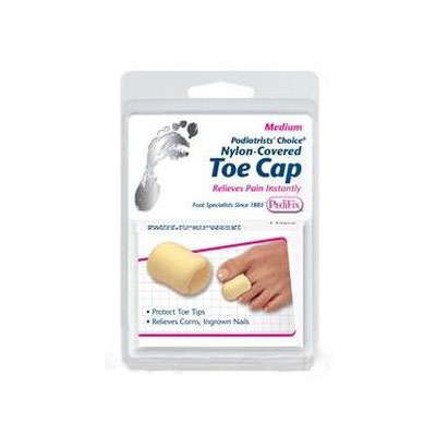 PediFix Podiatrist's Choice Nylon Covered Toe Cap - Medium