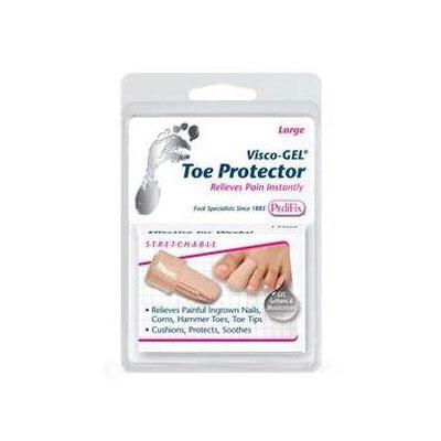 PediFix Visco-GEL Toe Protector - Large Pack of 6