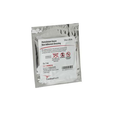 Reliamed 3in x 36in Petrolatum Impregnated Gauze, Sterile