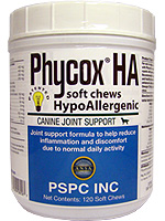 Phycox HA Soft Chews For Dogs 120/bottle