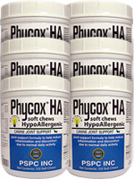 Phycox HA Soft Chews For Dogs 120/bottle - Pack of 6