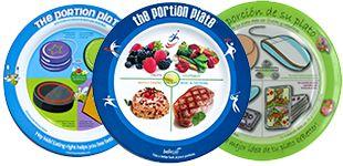 Portion Control Plates