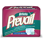 Prevail Premium Medium Briefs Sold By Package 20/Ea thumbnail