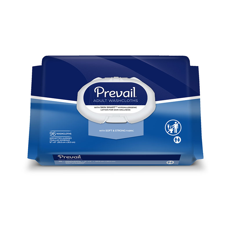 First Quality Prevail Adult Incontinent Wipes 12
