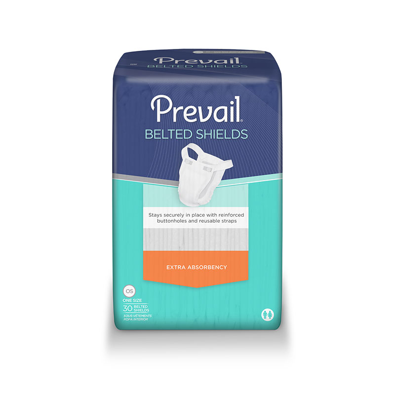 First Quality Prevail Premium EX-Absorbency Shield 1-Sz PV-324 120/cs