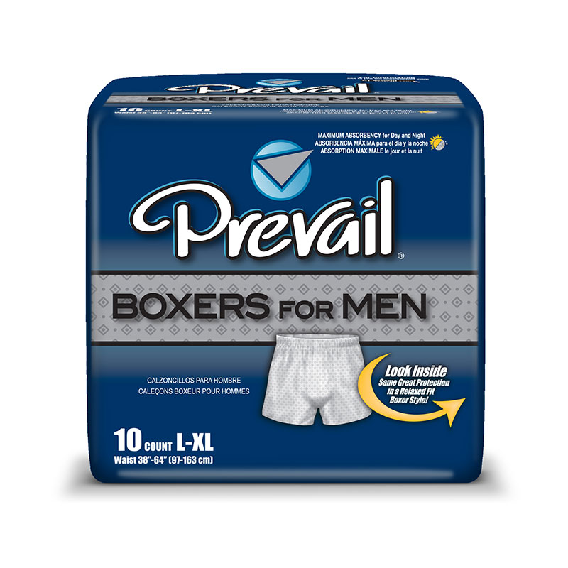 First Quality Prevail Boxers for Men LG/XL 44