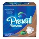 Prevail Breezers Adult Briefs, X-Large, PVB014