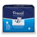 "First Quality Prevail Male Guard White 13"" PV-811 126/cs thumbnail"