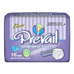 First Quality Prevail Protective Underwear for Women X-Large 16/bag