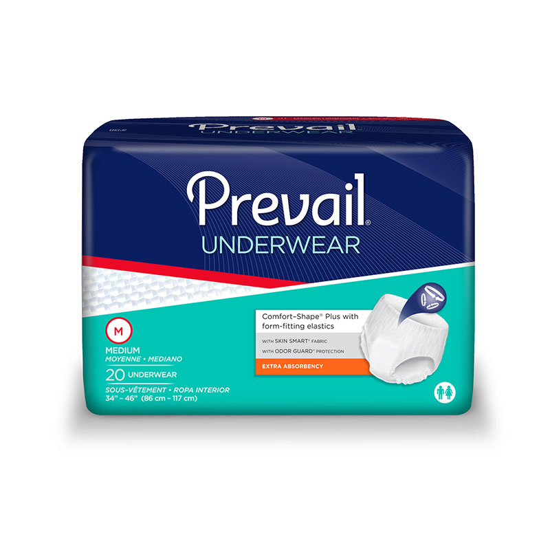 Prevail Protective Underwear, Medium Sold By Bag 20/Ea