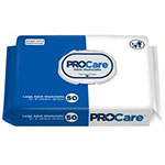 "First Quality ProCare Adult Wipes White 12""x8"" CRW-096 96/bag thumbnail"