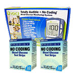 Prodigy Blood Glucose Test Strips 100/bx w/ Meter Kit